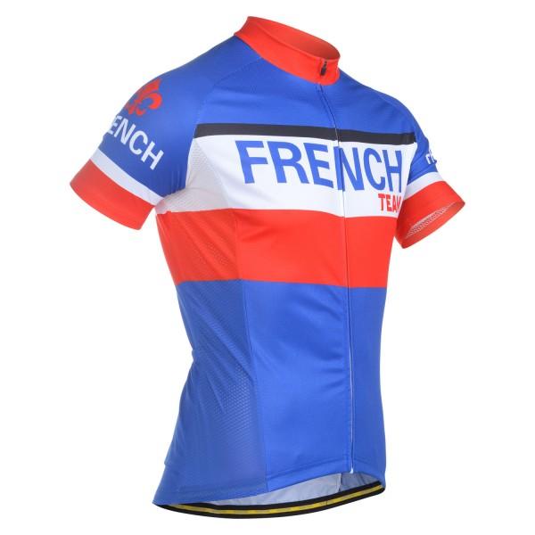 FRANCE FLAG MEN S SHORT SLEEVE CYCLING JERSEY 5c573bbce